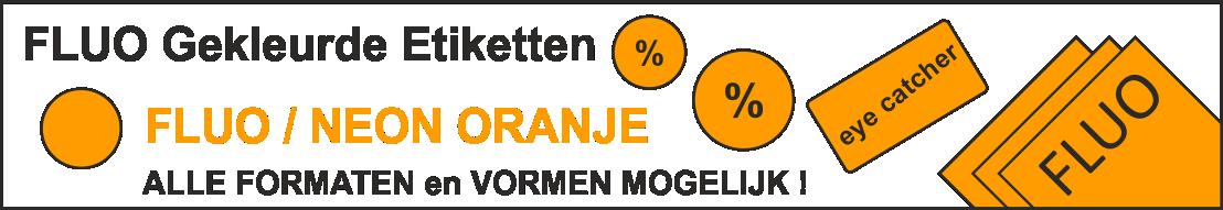 R0133 Fluo-oranje